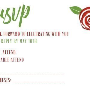 Cherry Berry Green Bean RSVP